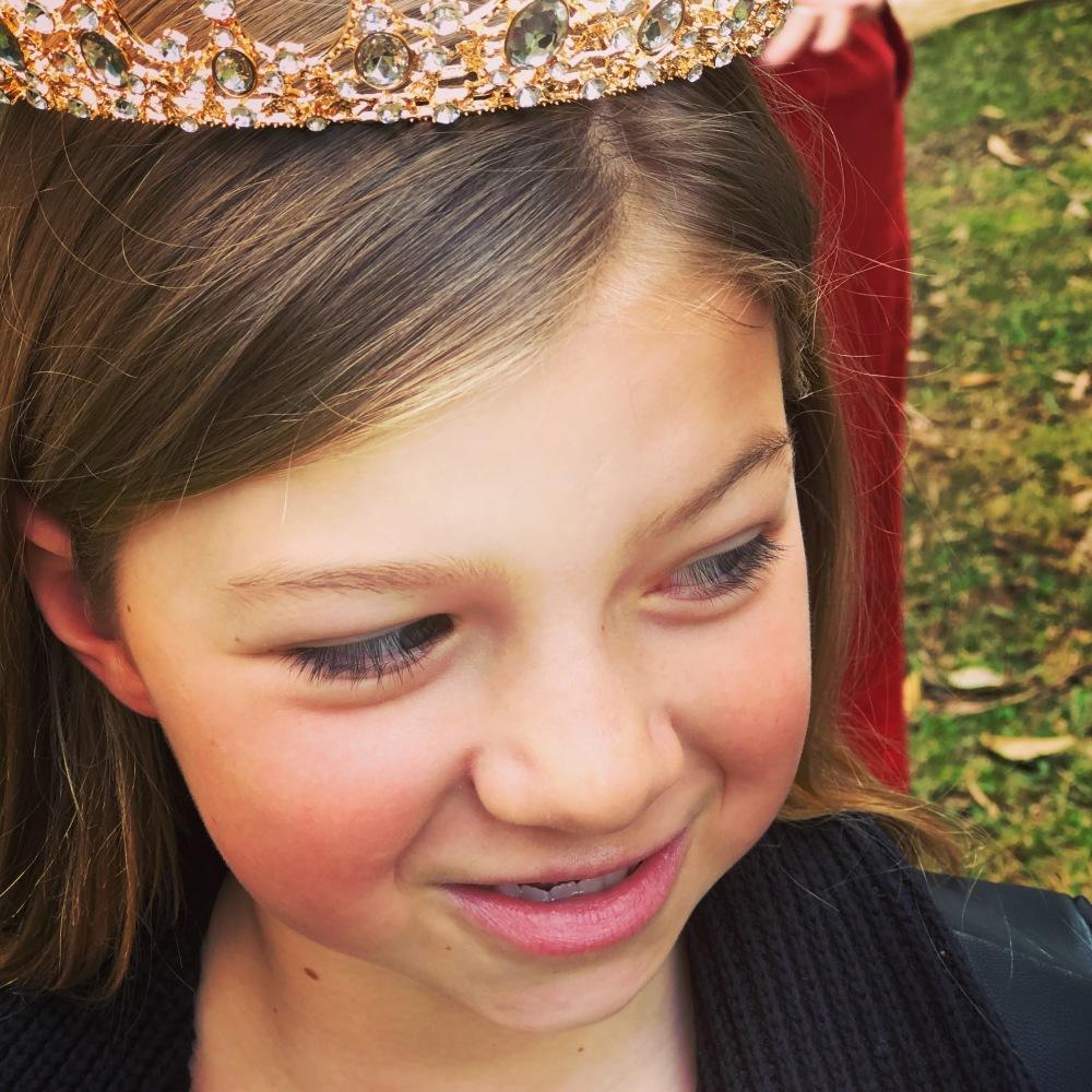 Greta crowned
